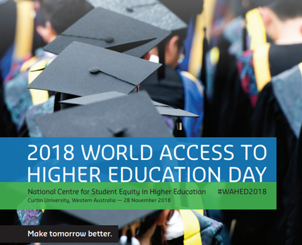 WAHED 2018 - World Access to Higher Education Day